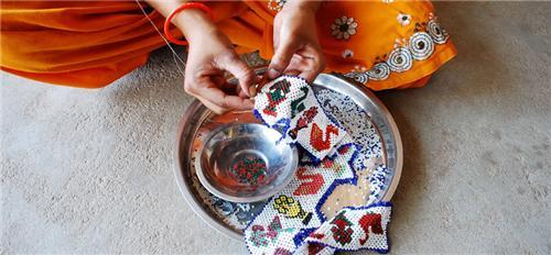 Handicrafts in Wadhwan