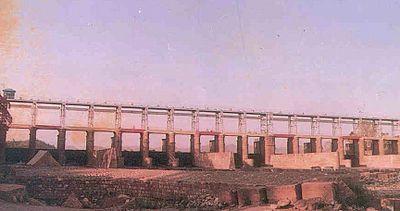 Banks of the river Yamuna near Yamunanagar