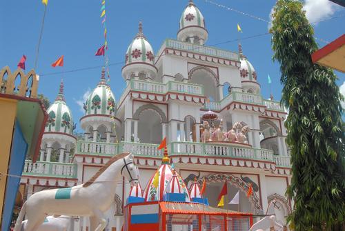 Jagannath temple in Agartala