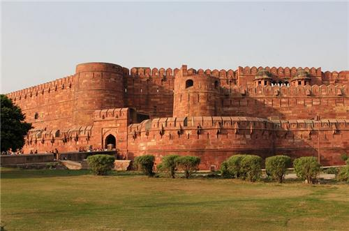 Agra Fort Location