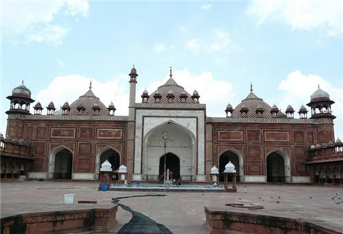 Jama Masjid in Agra Location