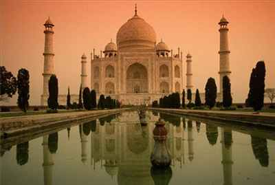 Taj Mahal- one of the Seven Wonders of the Modern World