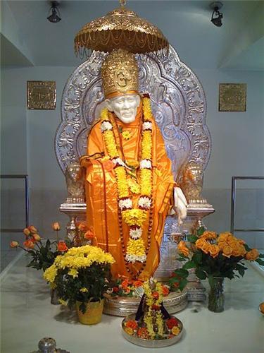 Sai Baba Temple in Ahmednagar