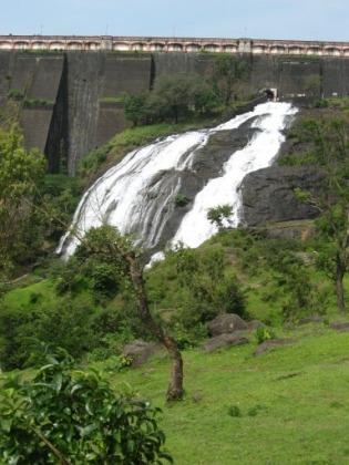 A beatiful lake near Ahmednagar