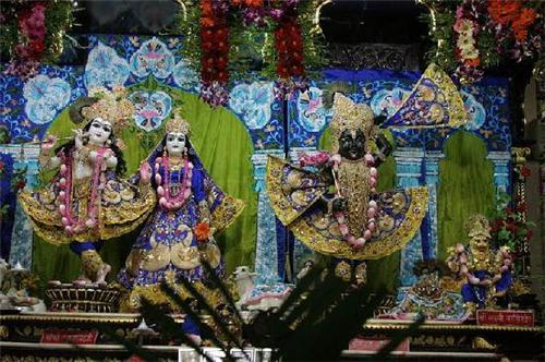 Dieties in ISKCON Temple Ahmedabad