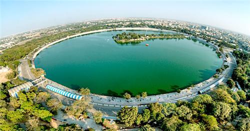 Biggest Lake in Ahmedabad