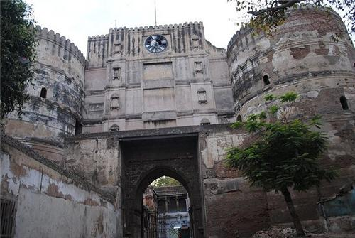 Bhadra Fort In Ahmedabad Clock Tower In Bhadra Fort Ahmedabad