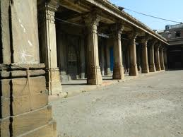 Pillars of Rani no Hajiro Ahmedabad