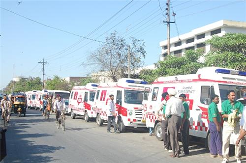 Ambulances in Amritsar