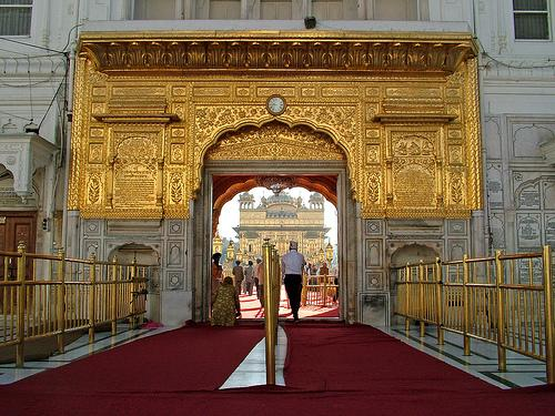 Entrance of Golden Temple