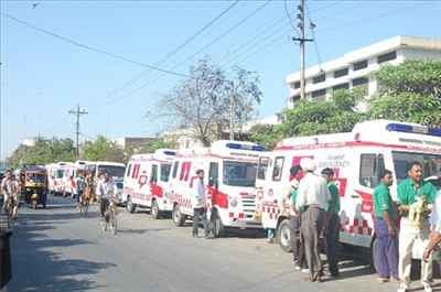 Ambulances in Amritsar