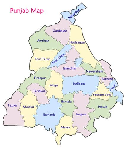 Geography of Amritsar
