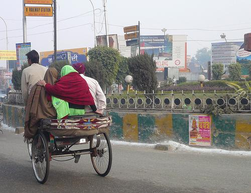 Rickshaws in Amritsar