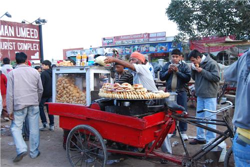 Snacks in Amritsar