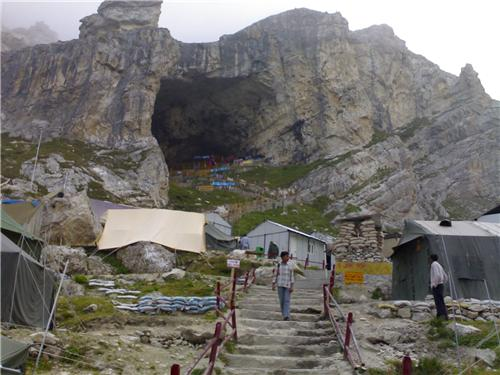 The Holy Amarnath Caves
