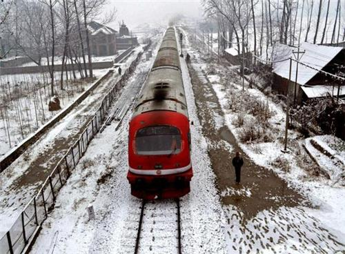 Trains at Anantnag