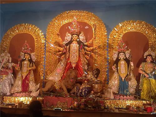 Maa Durga in Balurghat