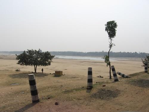 Damodar River in Bardhaman