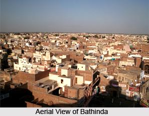 Topography of Bathinda