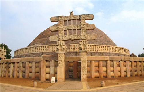 World famous Sanchi Stupa