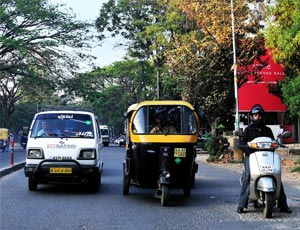 Auto Rickshaws in Bhopal