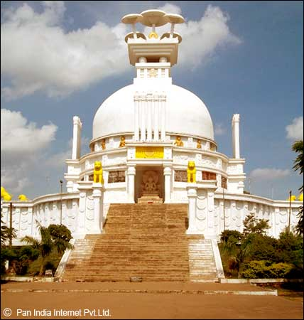 Dhauligiri Hills - An Important Buddhist pligrimage in Bhubaneswar