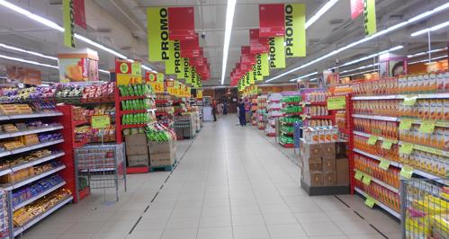 Auchan Hypermarket in Chennai