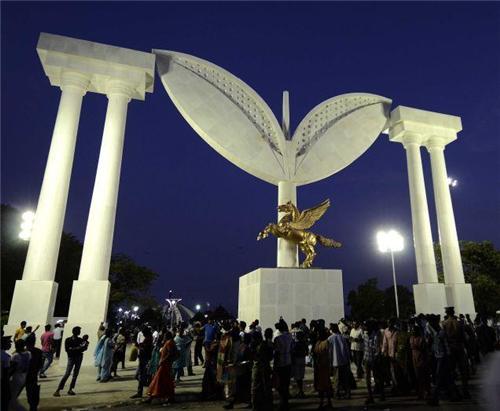 MGR Memoroial in Chennai