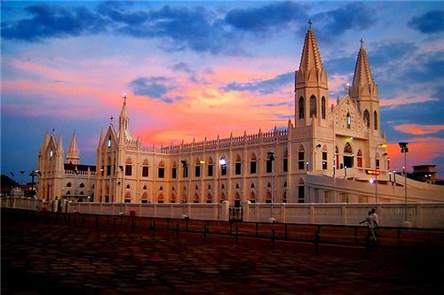 Velankanni Church in Chennai
