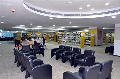 The Own Book Reading Section of the Anna Library in Chennai