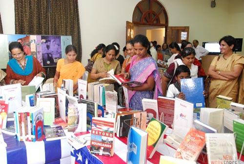 Book Fair going on at the US Consulate in Chennai
