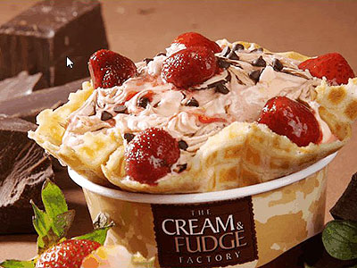 Cream and Fudge in Chennai