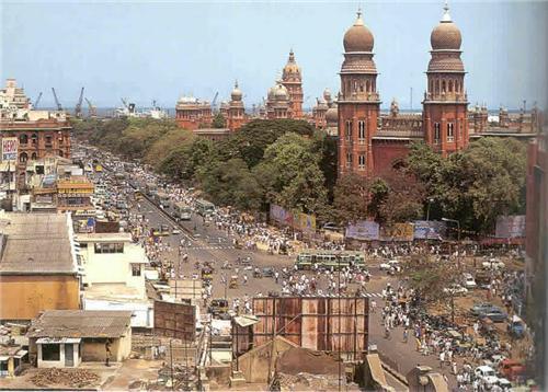 George Town in Chennai