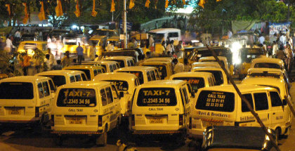 Taxis for hire in Chennai