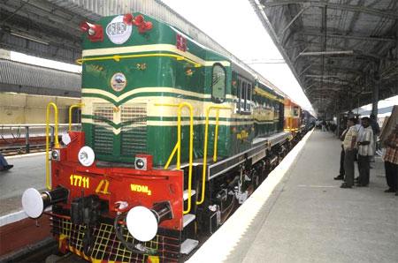 Railway Transportation in Chennai
