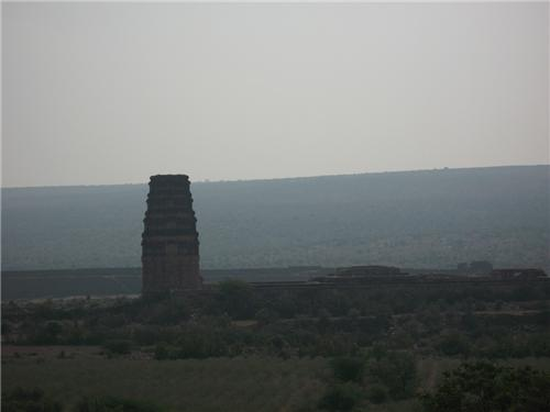 Pigeon Tower in Gandikota