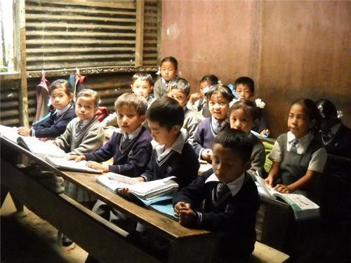 Classroom at Anugyalaya