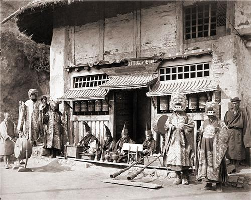 An Old Settlement in Darjeeling