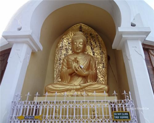 One of the Four Statues of Lord Buddha