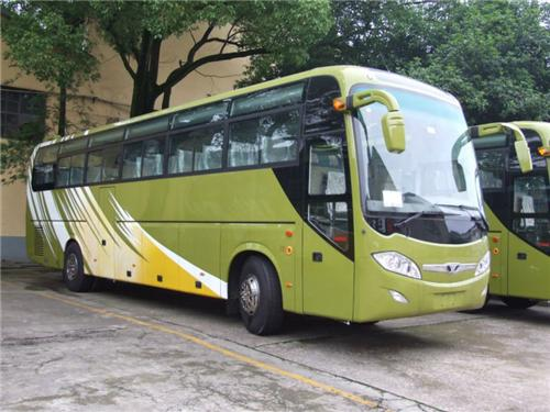 A Fleet of Buses Runs to and from Darjeeling