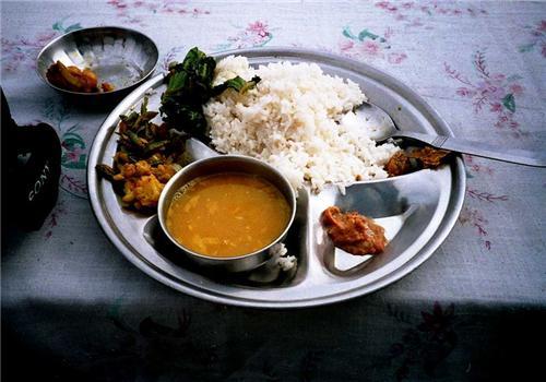 Bhat-dal-torkari