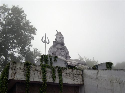 Statue of Lord Shiva at Shrubbery Nightingale Park