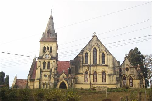 St Andrews Church on Mall Road in Darjeeling