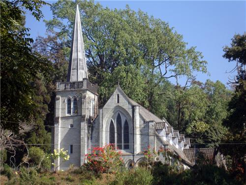 Church at Dr Graham's from Darjeeling