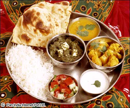 Thali : Daily food