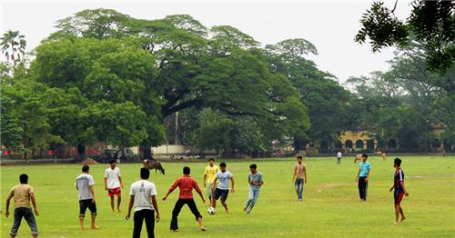 Football clubs are very common in Durgapur