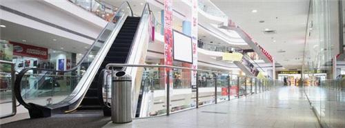 Escalators in Junction Mall
