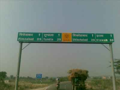 Firozabad Important Areas