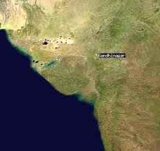 Geography of Gandhinagar