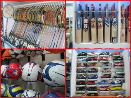 Sports Shops in Gandhinagar